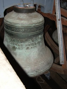 Bell from 1854, St Mary's, West Malling